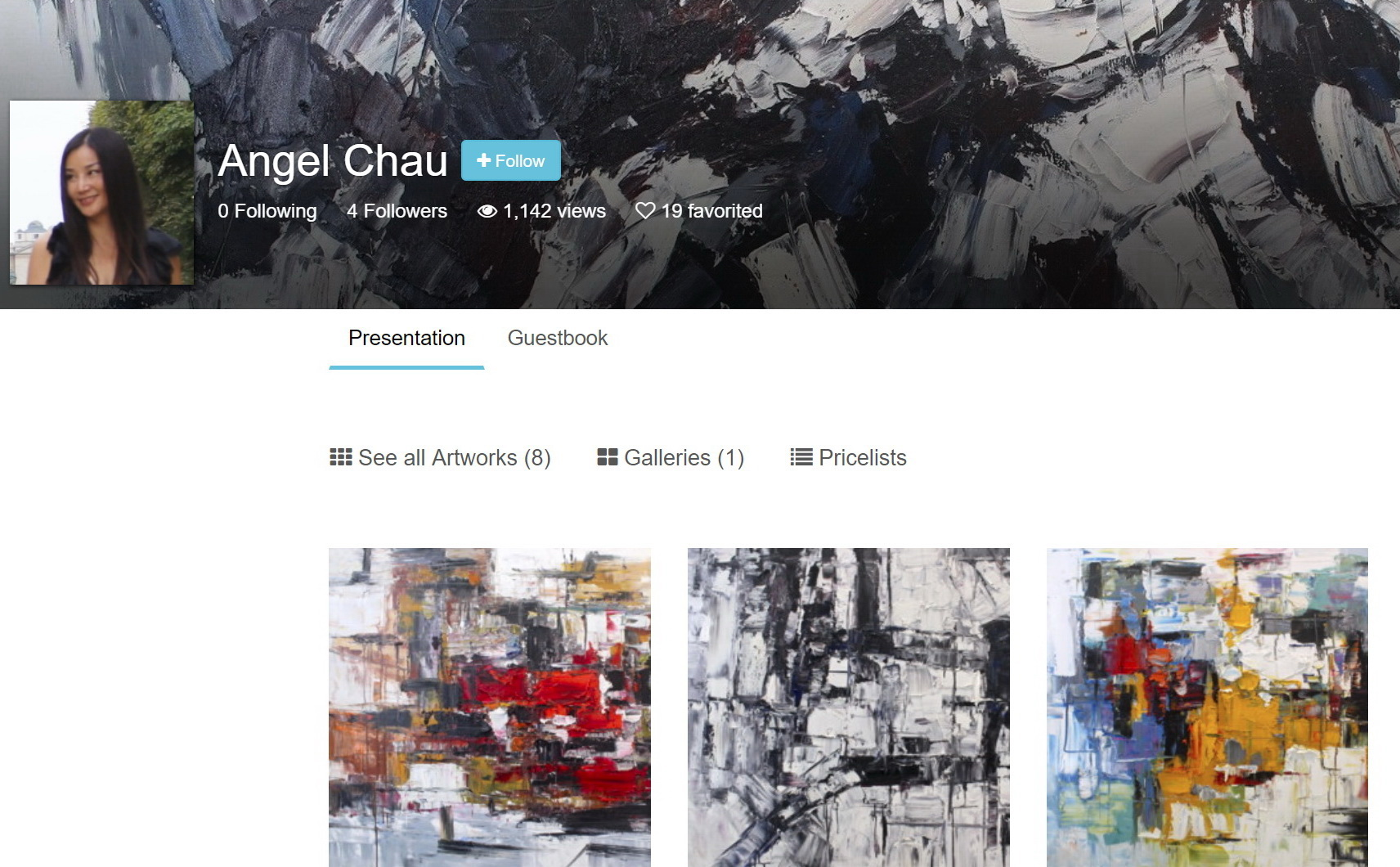 Look my artwork on Artmajeur.com